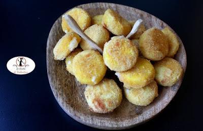 Tomini del Melle fritti in friggitrice ad aria