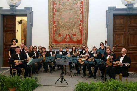 All'Abbazia di San Nilo l'Orchestra mandolinistica romana