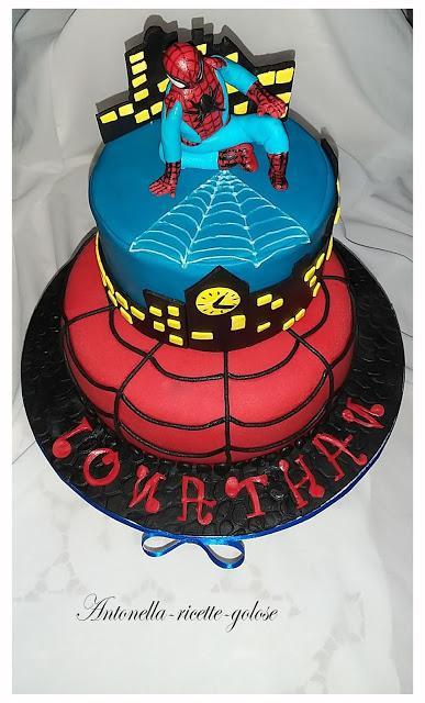 """""""Torta Spider-man"""""""