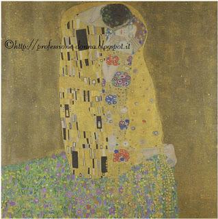 Schema punto croce: Il Bacio Klimt