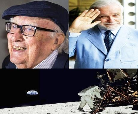 Un omaggio a Luciano De Crescenzo, Andrea Camilleri e al primo sbarco sulla Luna
