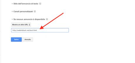 Come creare una unità pubblicitaria cliccabile con Google AdSense
