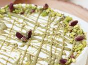 Cheesecake allo yogurt pistacchio