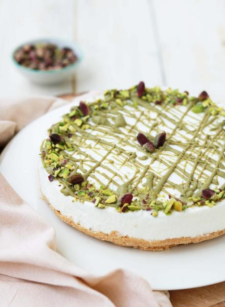 Cheesecake allo yogurt e pistacchio
