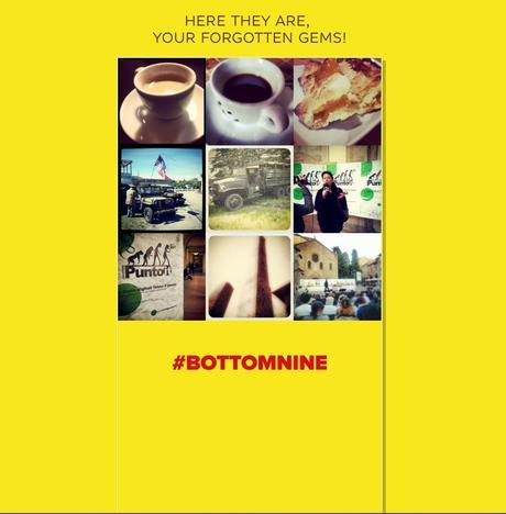 Bottom Nine, le immagini su Instagram che hanno ottenuto zero like