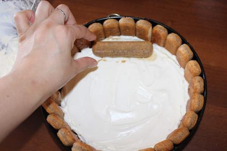 Torta tiramisù senza uova