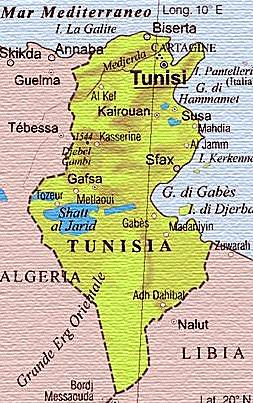 Risultati immagini per cartina djerba tunisia