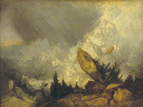 Valanga-nei-Grigioni - ca. 1810. Olio su tela (C) Tate Londra 2019