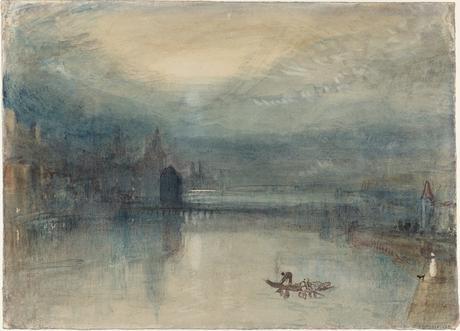 Lucerna al chiaro di luna - ca. 1842/43. Acquarello - (C) Tate, Londra 2019