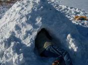 Quinzhee, rifugio neve