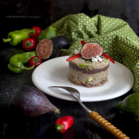 teff-in-insalata-con-fichi-paté-olive-nere-peperoni-ricetta-estiva-facile-primo-senza-glutine-contemporaneo-food