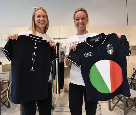 Team Italia, divisa EA7 di Armani per Tokyo 2020