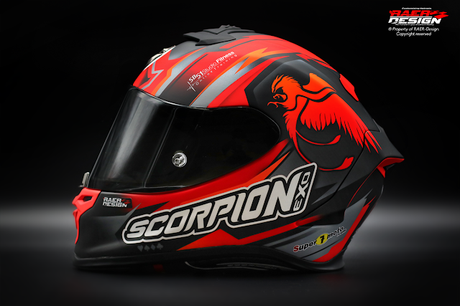 Scorpion EXO-R1 Air S.Barragán 2019 by RAER Design