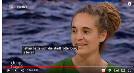 No ! Carola Rackete non ha ammesso che il Governo Tedesco le abbia ordinato di portare gli Immigrati in Italia