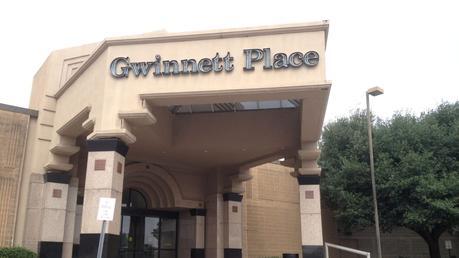 The Gwinnett Place Mall in 2012