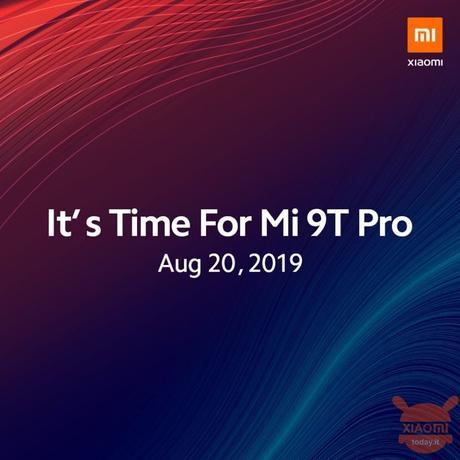 Xiaomi Mi 9T Pro: confermata l'uscita in Europa il 20 agosto