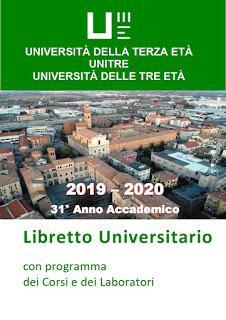 Università delle Tre Età - Anno accademico 2019-2020