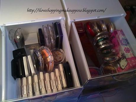 Postazione/organizzazione Make up