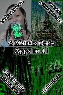 Matrix Code Camera 3D