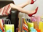 D'estate shopping rosa sera