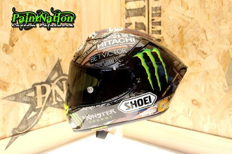 Shoei X-Spirit III J.McGuinness 25th NW200 2019 by PaintNation