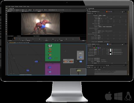 Natron ottimo software di composizione open source per VFX e Motion Graphics.