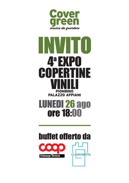Chi va con lo Zoppo... non perde Covergreen 2019: l'apertura della mostra e il concerto degli Overfly!