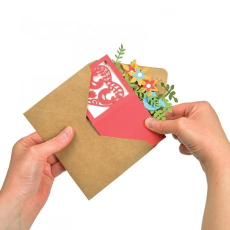 Come creare una Card in a box in modo facile con la Big Shot
