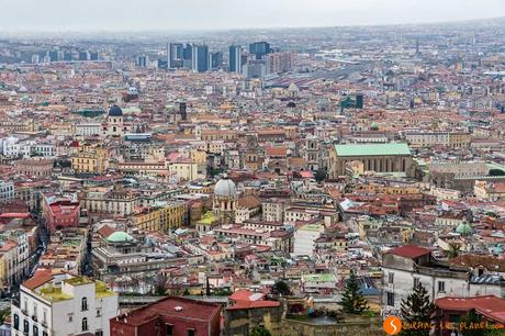 Panorama da Castel Sant Elmo, Napoli, Italia | Cosa fare a Napoli