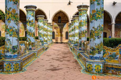 Chiostro del convento di Santa Chiara, Napoli, Italia | Cosa vedere a Napoli
