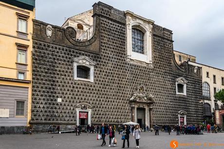 Chiesa del Gesu Nuovo, Napoli, Italia