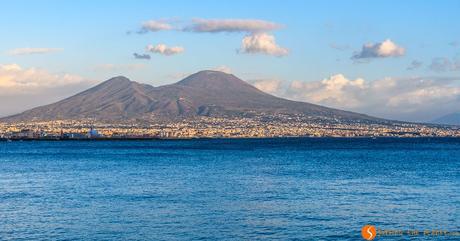 Vesuvio dal lungomare, Napoli, Italia | Cosa visitare a Napoli