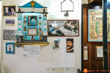 Altare di Maradona, Bar Nilo, Napoli, Italia | Cosa vedere a Napoli