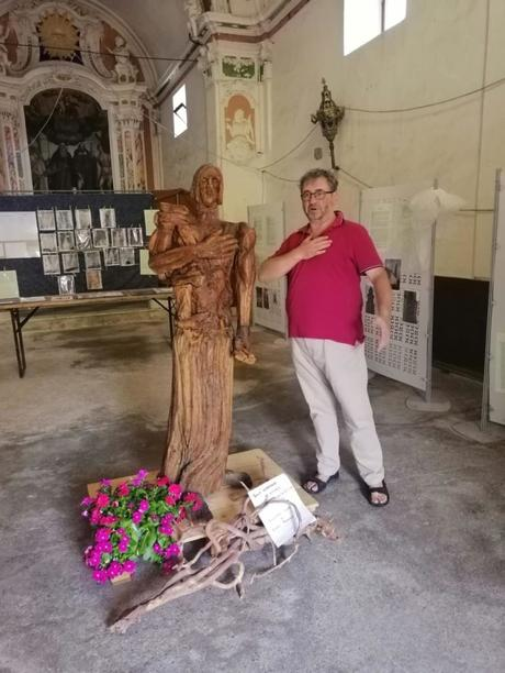 Devozione ed Arte Bestoso dona un S. Antonino ligneo alla parrocchiale di Casanova