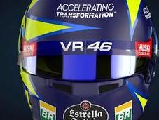 "Bell HP77 L.Norris ""Tribute Valentino Rossi"" Monza 2019 Designs painted Jens Munser (render Design)"