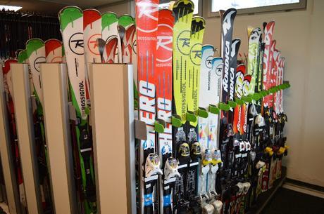 Dove trovare un deposito temporaneo per sci e attrezzatura da montagna