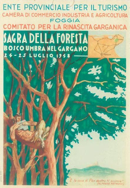 Scene di vita 50 anni fa (e oltre) in Foresta Umbra