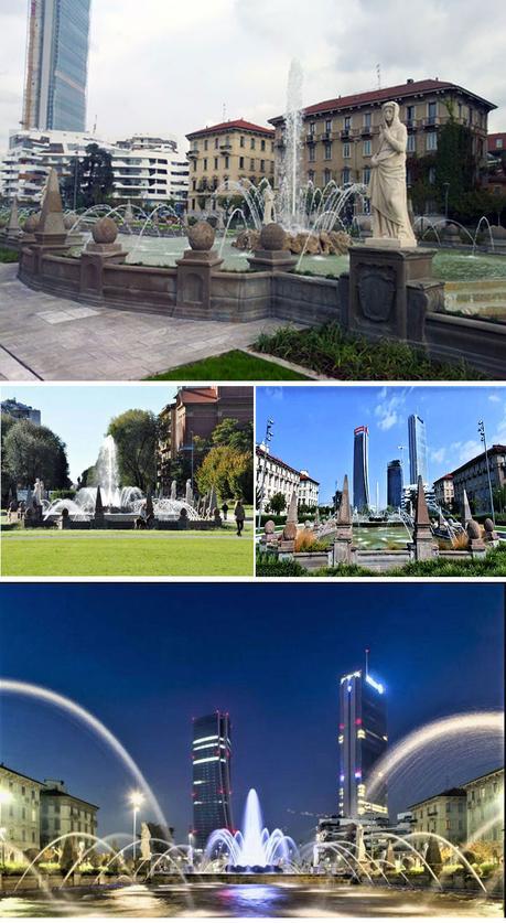 La fontana delle quattro stagioni - Milano