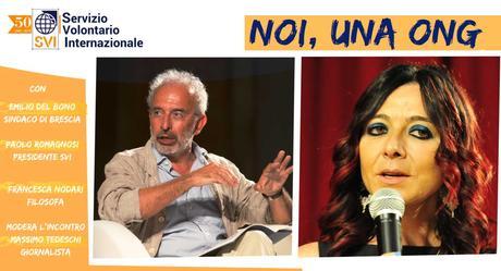 NOI, UNA ONG, con Gad Lerner, Emilio Del Bono, Paolo Romagnosi e Francesca Nodari