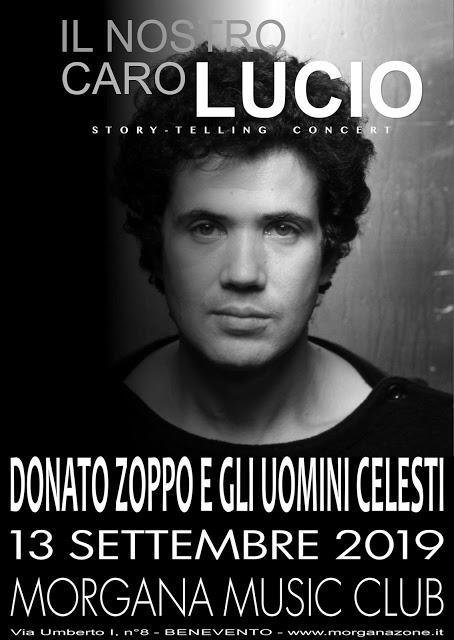 Chi va con lo Zoppo... non perde Il nostro caro Lucio dal vivo al Morgana!