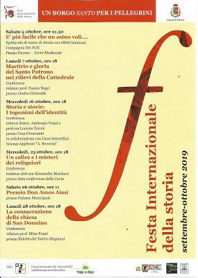 Franco Cardini e mons. Carlo Mazza ospiti alla Festa Internazionale della Storia di Fidenza