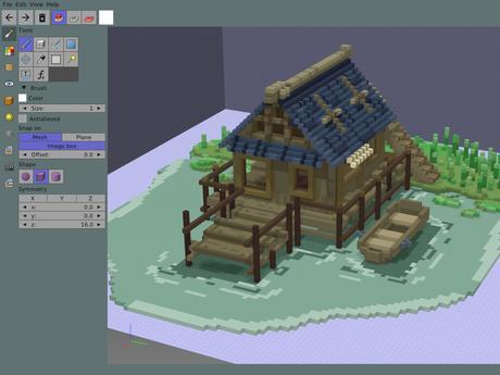 Goxel Screenshot