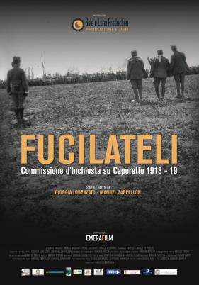 """Asiago (VI), Cinema Grillo Parlante: sabato 14 settembre proiezione di """"Fucilateli –  Commissione d'Inchiesta su Caporetto 1918- 19"""""""