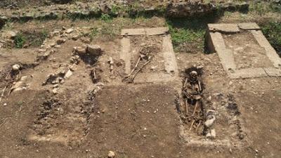 Priverno, torna alla luce una necropoli medioevale