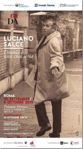 """Roma, Palazzo Firenze: """"Luciano Salce – L'ironia è una cosa seria"""""""
