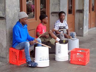 New Orleans:  musica e strada