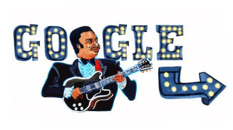Il doodle di Google è per i 94 anni del re del blues B.B. King