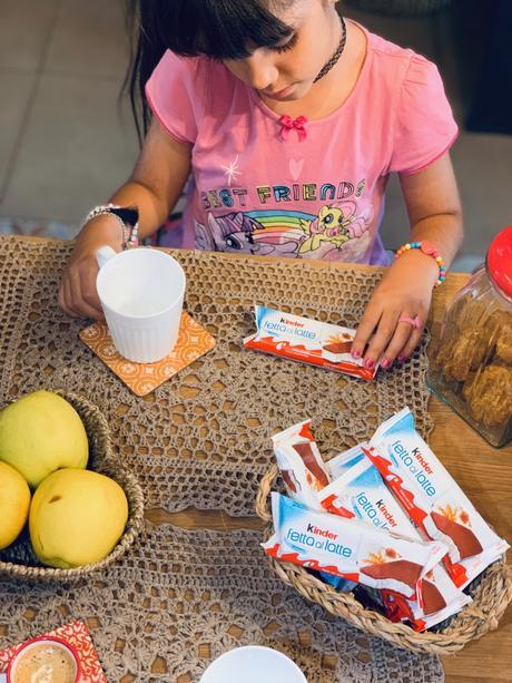 Kinder Fetta al Latte: l'alleata ideale per un back to school in tutta allegria