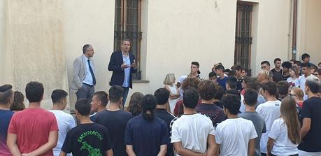 Liguria agricoltura  Albenga all'agrario inizio anno scolastico con assessore regionale Mai
