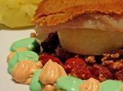 ricciola crumble parmigiano, generosi sapori